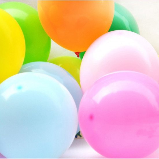 100PCS Colorful Balloon Birthday Christmas Wedding Party Decoration 2021