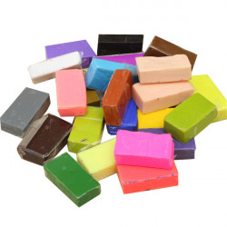 300g Mixed Color DIY Non-toxic Craft Art Toys Moulding Soft Clay
