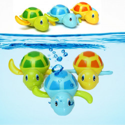 3 Colors Swimming Turtle Bathtub Toy For Children Kids