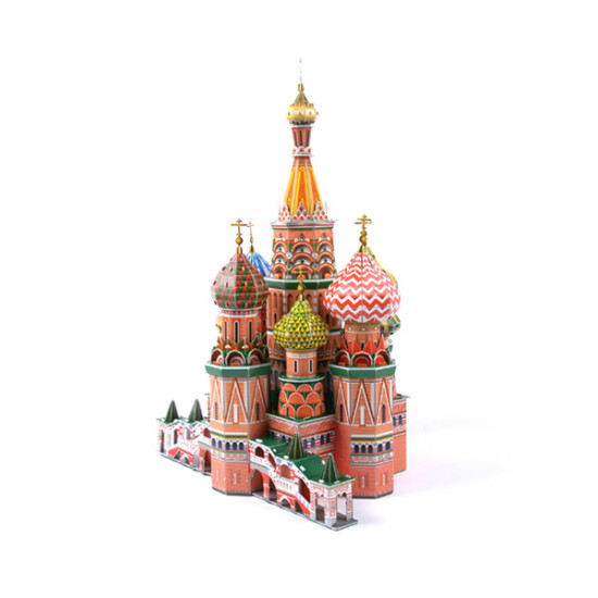 3D Jigsaw Puzzle ST. Basil's Cathedral Hardback DIY Model 2021