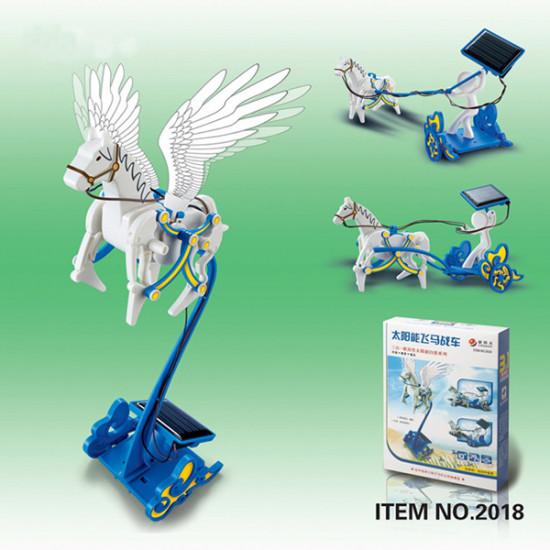 3 In 1 Educational DIY Solar Pegasus Chariot Toy 2021