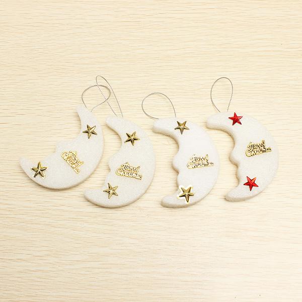 4PCS Christmas Decoration Cute Moon Bubble Party Supplies Holidays & Events Gadgets