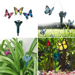 Beautiful DIY Creative Deformation Solar Power Butterfly Toy