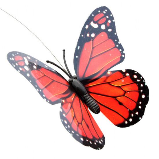 Beautiful DIY Creative Deformation Solar Power Butterfly Toy 2021