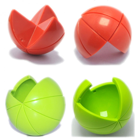 Cute Sunlight Spherical Jigsaw 3D DIY Puzzle Ball Game Toy For Kids 2021