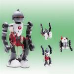 DIY Electric Tumbling Robot 3-Mode Assembly Robot for Children Toys Model