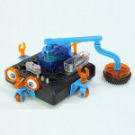 DIY Space Cleaning Robot Educational Toys To Explore Enlightenment Toys Model
