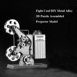Fight Cool DIY Metal Alloy 3D Puzzle Assembled Projector Model