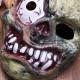 Halloween Monster Zombie Bulging Eye Mask Horror PVC Mask 2021