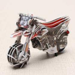HopeWinning Classic Compages Assemble Toy Racing Motor Wind-up Toy