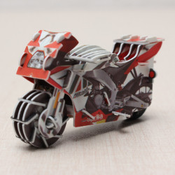HopeWinning Classic Compages Assemble Toy Road Race Motor Wind-up Toy