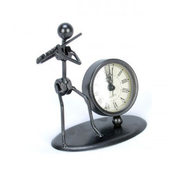 Iron Man Transverse Flute Clock Creative Crafts Fashion Model