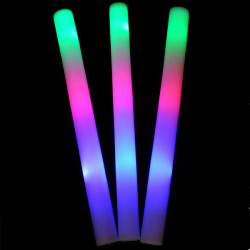 LED Colorful Cheering Glow Flashing Foam Stick for Concert Party