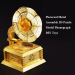 Piececool Metal Assembly 3D Puzzle Model Phonograph DIY Toys Toys Model