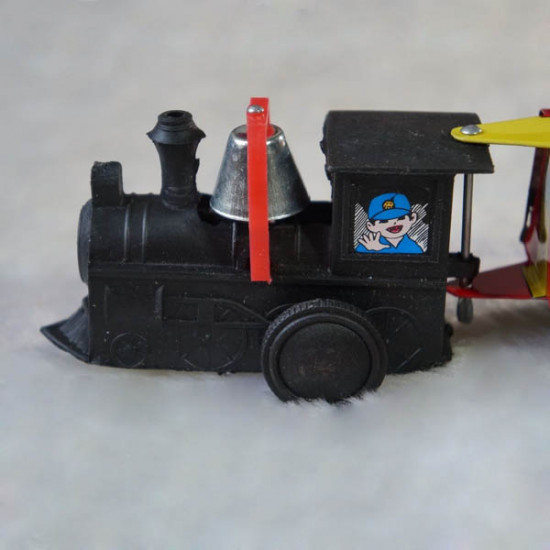 Vintage Wind Up Tin Toy Clockwork Spring Train Classic Toy 2021