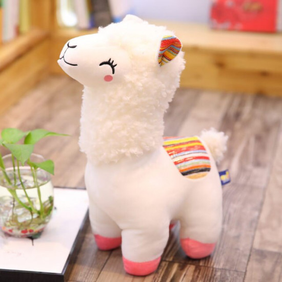 25cm Cute Sheep Plush Alpaca Toys Stuffed Animals Alpacasso 2021