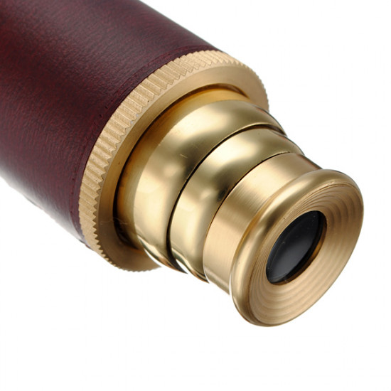 25X30 Brass Monoscope Telescope Pirate Eye Glass Scope 2021
