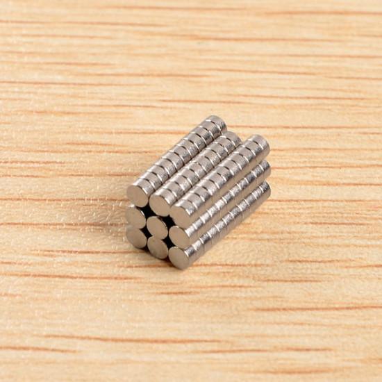 100pcs D2x1mm N40 Neodymium Magnets Rare Earth Magnet 2021