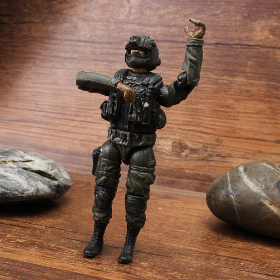 1:18 Special Forces Soldier Model GI Movable Joints Action Figure 2021