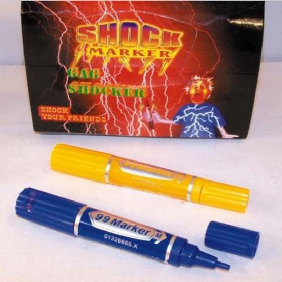 Electric Shock Trick Gag Marker Pen Toy Joke Funny Gift 2021
