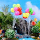 Micro Landscape Ornaments Miniature DIY Heart/Round Balloons 2021