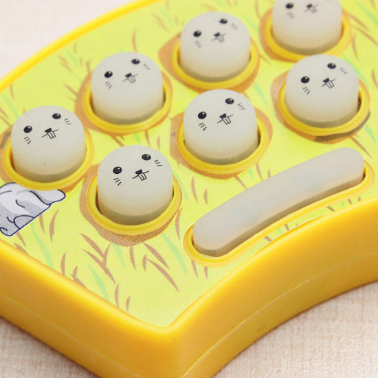 Mini Whack-A-Mouse Mole Attack Game Key Chain Amusement Game 2021