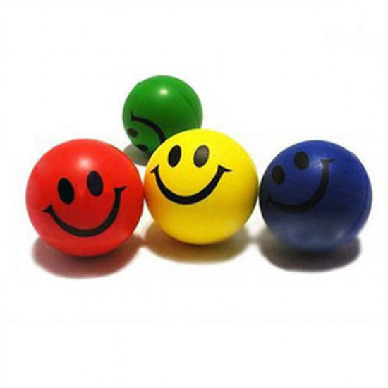 Smiley Face Exercise Stress Relievers Squeeze Ball 2021