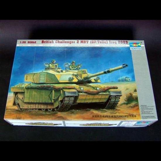 Trumpeter Model Tank British Challenger 2 MBT (OP. Telic) Iraq 2003 2021