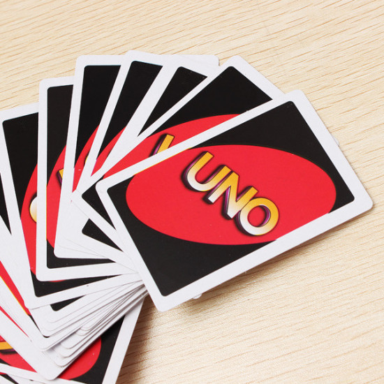 UNO Card Game Playing Card Family Friend Travel Instruction 2021