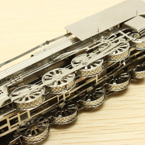 ZOYO Steam Train DIY 3D Laser Cut Models Puzzle 2021