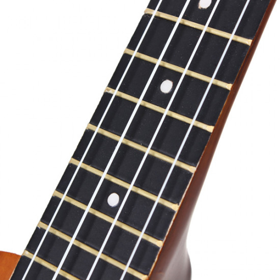 21 Inch Acoustic Soprano Hawaii Ukulele With Guitar Tuner And Gig Bag 2021