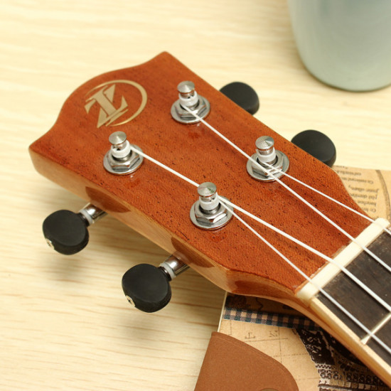 21 Inch Sapele Panel Ukulele Musical Instrument UK-LA1 2021