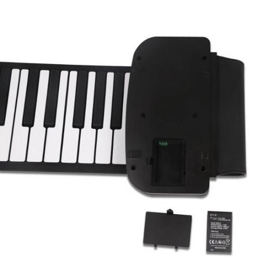 KONIX 61 Key MIDI Keyboard Portable Electronic Roll Up Piano PA61 2021