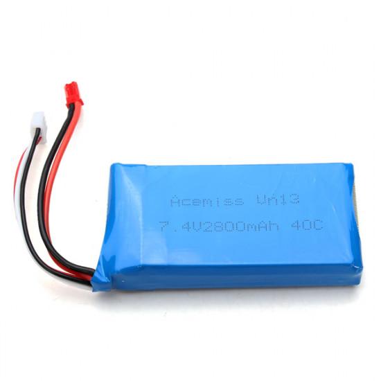 7.4V 2800mAh 40C Lithium Battery For V262 V333 V323 V666 2021