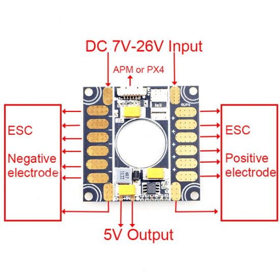APM Current&Voltage Sensors For APM2.5/2.6/2.8 PX4 Flight Control 3 In 1 2021