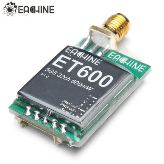 Eachine 700tvl 600mW 1/3 Cmos FPV 110/148 Degree Camera w/32CH Transmission 2021