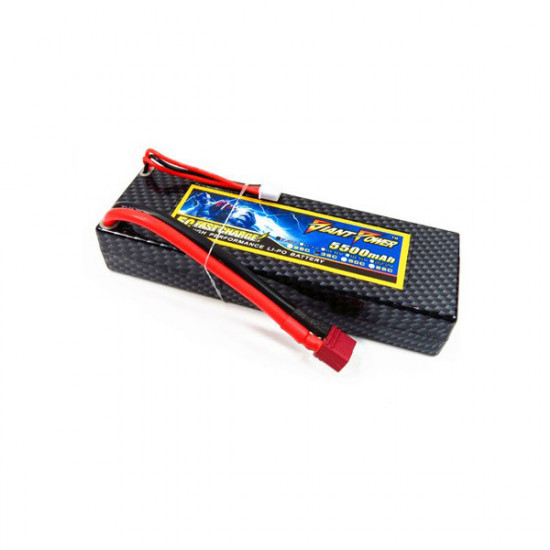 Giant Power 5500mAh 2S 7.4V 35C Hard Case Car Lipo Battery 2021