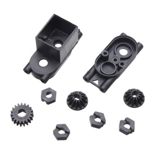 HBX 2098B Front/Rear Pinion Gears Motor Pinion gear Centre Gear Box 2021