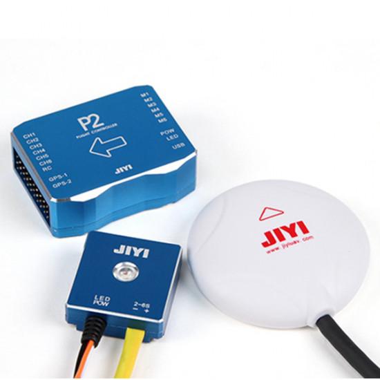JIYI P2 Autopilot Flight Controller with 7th U-Blox GPS & 32bit ST F4 processor 2021