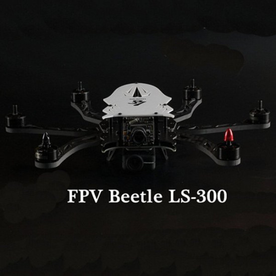 Lisamrc FPV Beetle LS-300 PCB Carbon / Glass Fiber Frame Kit 2021