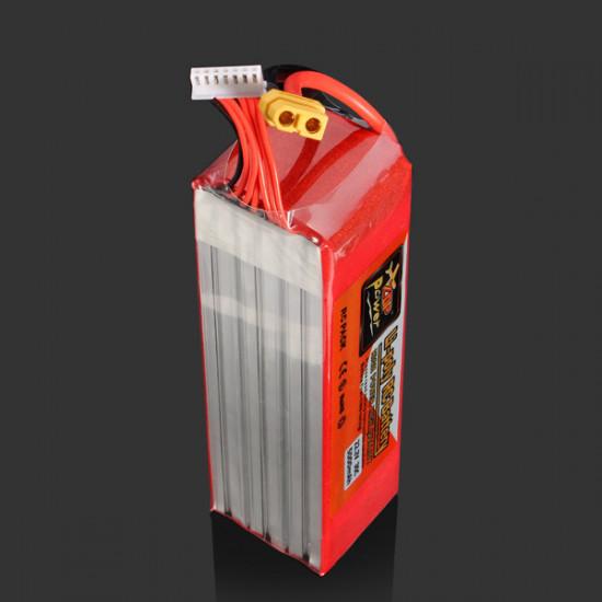 ZOP Power 22.2V 5000MAH 30C Lipo Battery XT60 Plug 2021