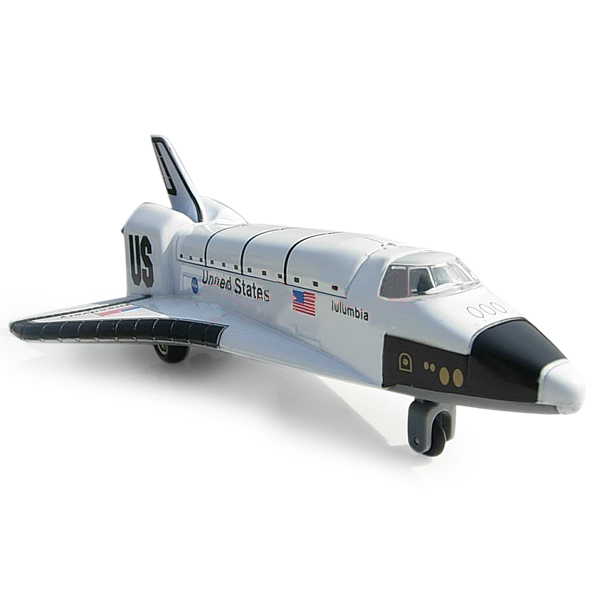 Buy Alloy Space Shuttle Fuselage Airplane Toys Model