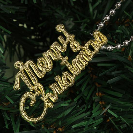 Christmas Gift Bag Decoration Chain 2021