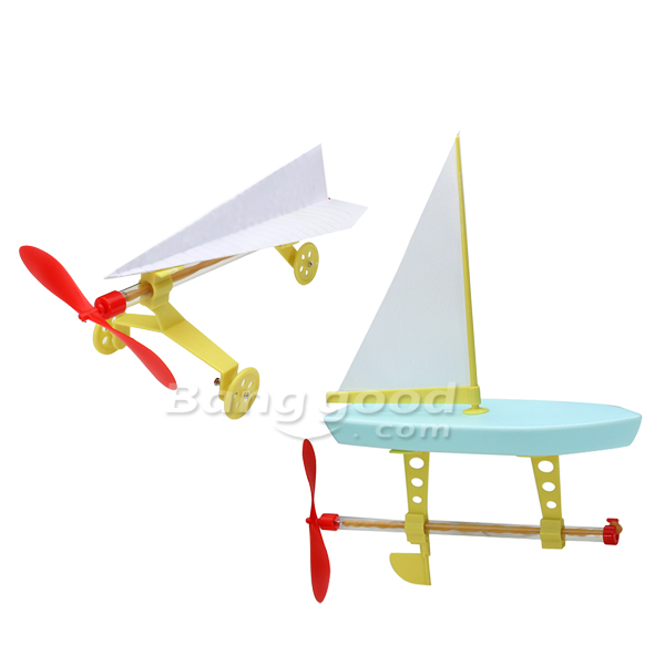 G  nstig Kaufen Netter Sonnenlicht 2 in 1 Gummiband Powered Kit    Wissenschaft    DIY    Spielzeug    f  r