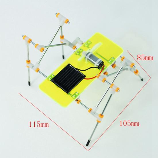 DIY Puzzle Toys Educational Toys Solar Quadruped Robot 2021