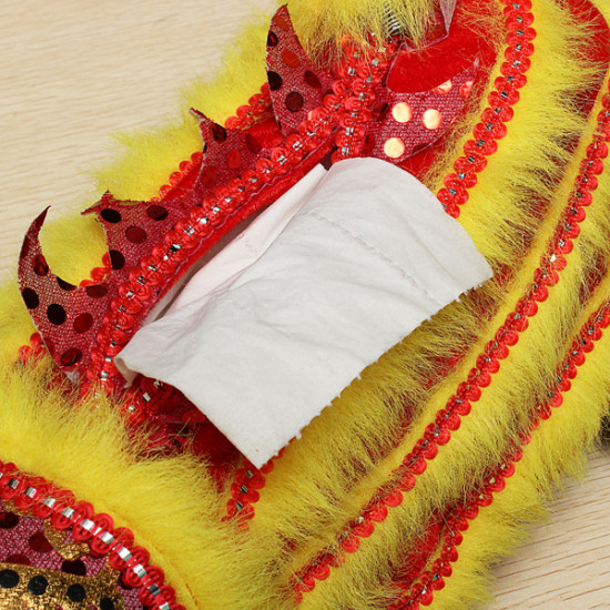 Dancing Lion Tissue Box Chinese Folk Arts And Craft 2021