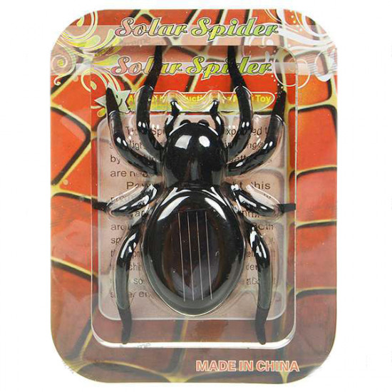 Educational Solar powered Spider Robot Toy Gadget Gift 2021