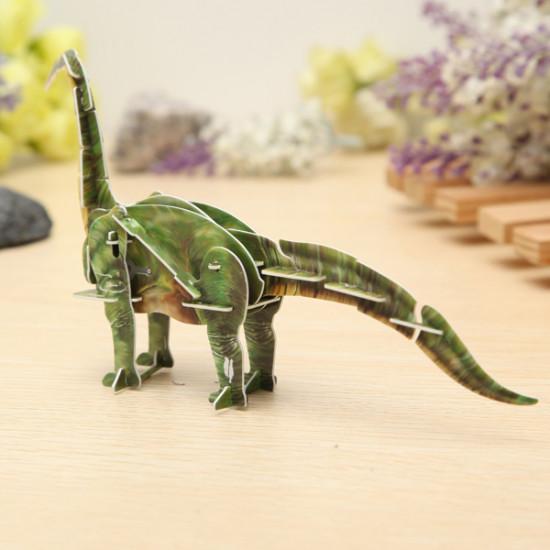 Hopewinning Dinosaur Brachiosaurus Wind-up Toy 3D DIY Educational Toy 2021