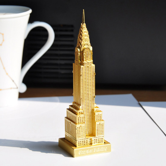 Piececool 3D Assembly Chrysler Building Puzzle Toys Building Model 2021