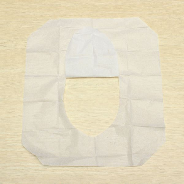 Buy 1 Pack 10pcs Clean Disposable Paper Sanitary Toilet